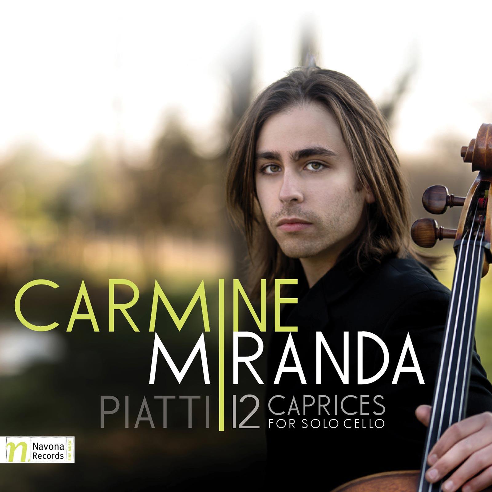 Piatti 12 Caprices For Solo Cello
