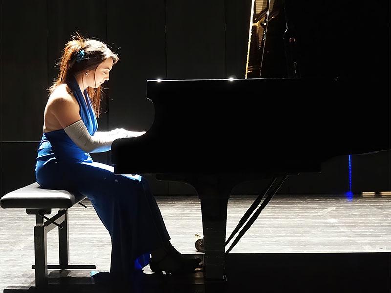 Nina at Piano